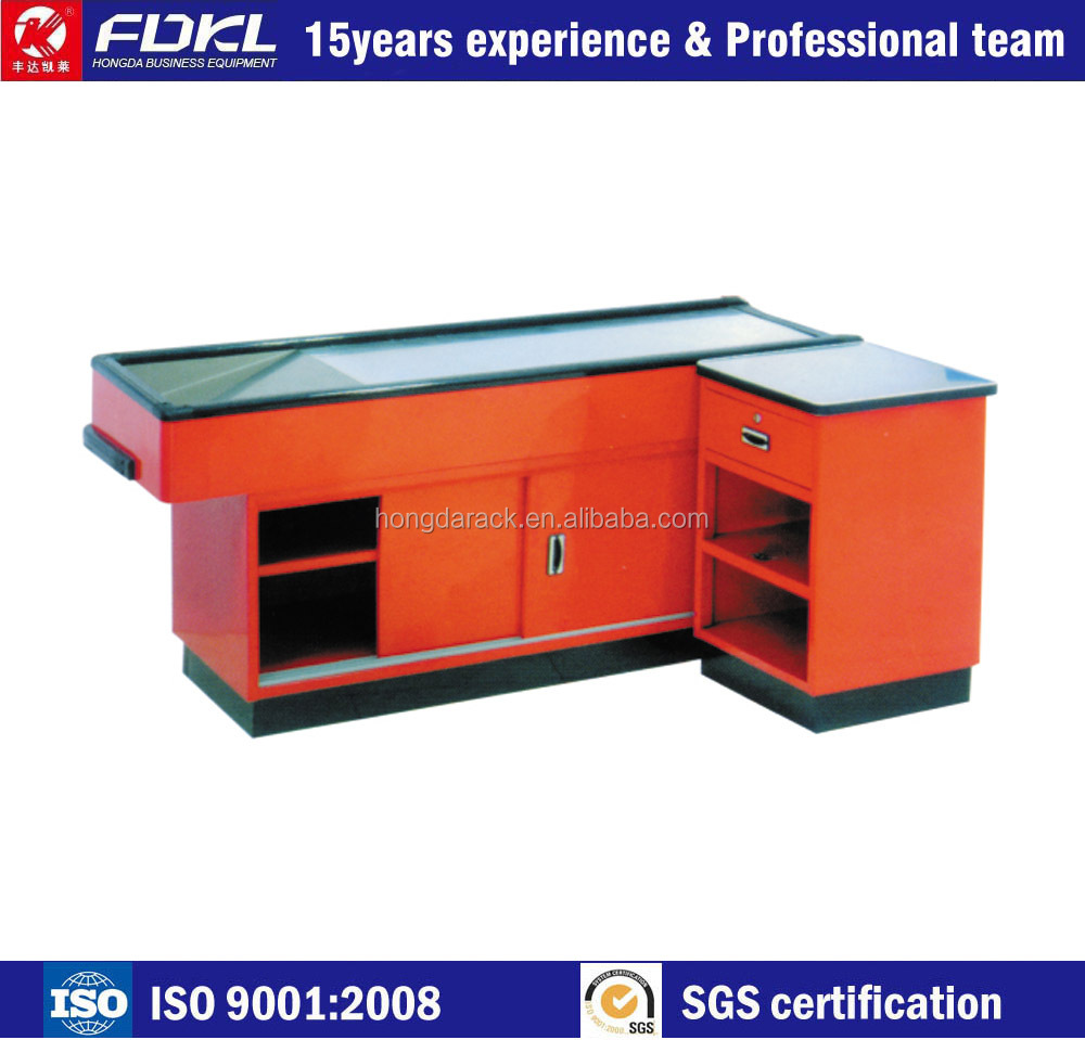 Supermarket wooden cash counter design view cash counter ked product - Supermarket Cash Counter Supermarket Cash Counter Suppliers And Manufacturers At Alibaba Com