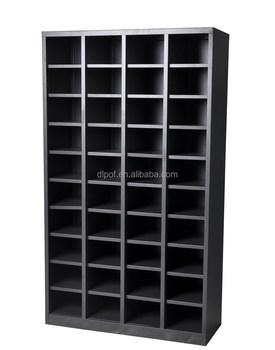 Steel Storage Pigeon Hole Adjustable Shelves Knocked Down