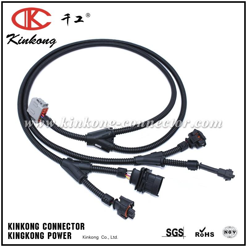 Automotive Wiring Harness With Deutsch Connector