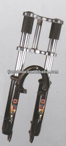 double crown suspension fork for mtb bicycle