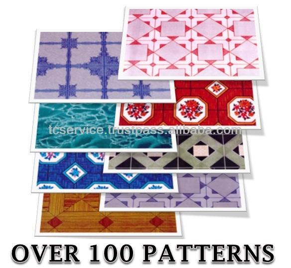 Lin leo pvc pisos de vinilo de calidad alfombras de piso - Linoleo suelo precio ...