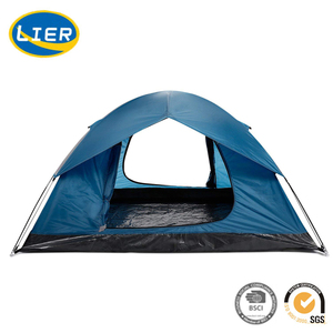 Lightweight Double Layer Camping Tent 2-person Backpacking Waterproof Tent Rain Fly for outdoor camping hiking