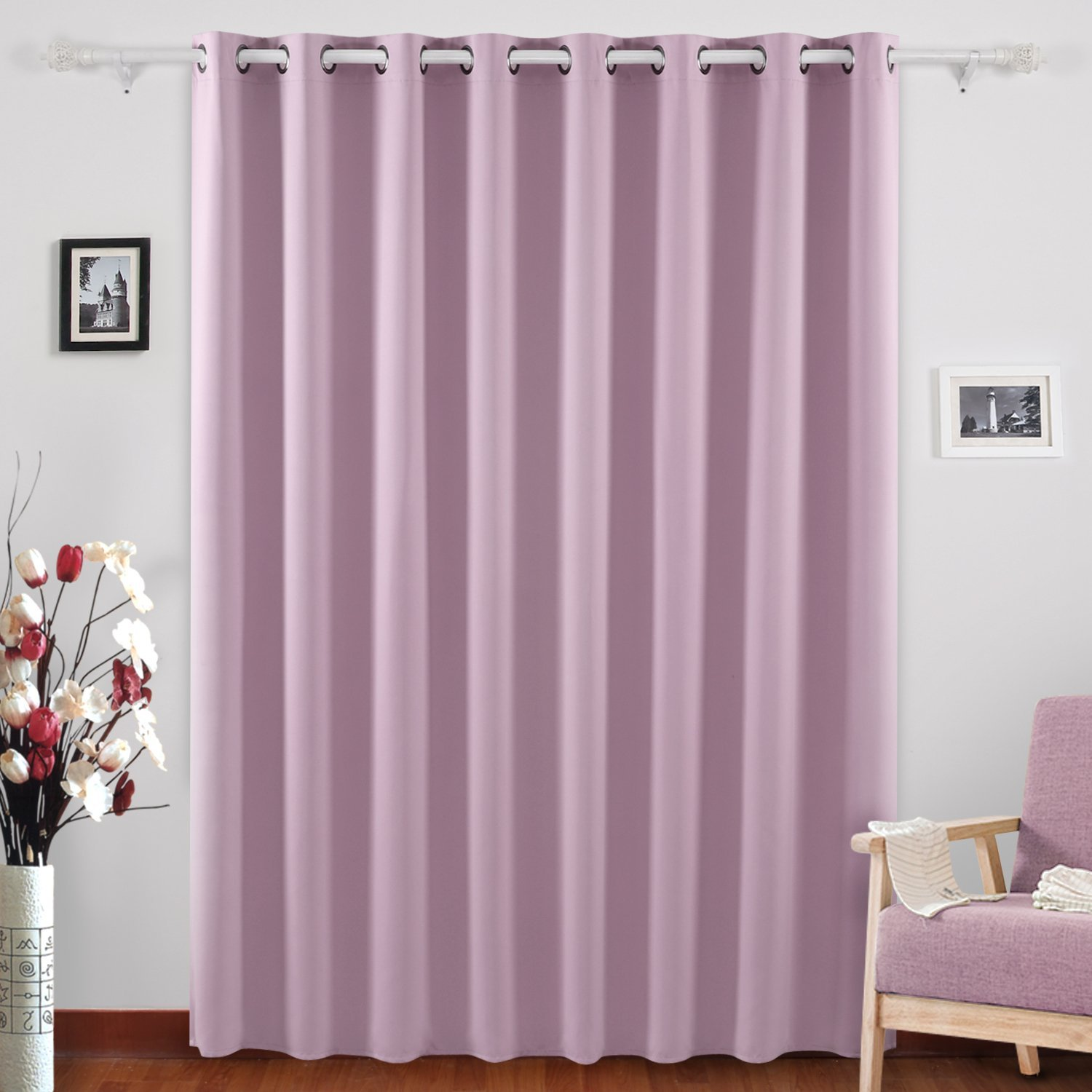 Get Quotations Deconovo Blackout Drapes Blind Curtain Thermal Insulated Wide Panel Curtains For Boys Room 100 X 95