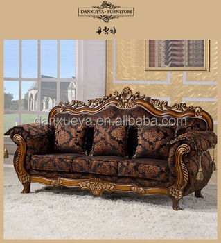 Customized Sofa Set For Hotel Saloon Office Room Furniture French