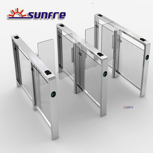 DC Brushless automatic swing speed gate waist height turnstile