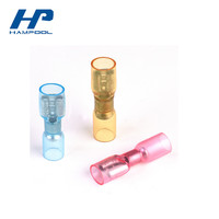 Hampool shrink terminal shrinkable terminal Nylon Heat Shrink Butt Connector faston terminals