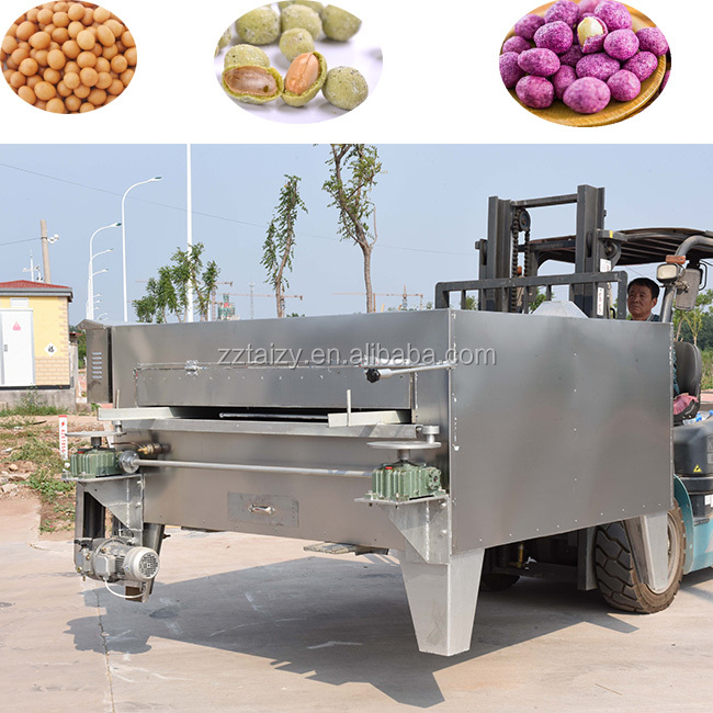 Populaire Industriële Swing Type Zaden Koffiebrander Coated Pinda Roosteren Machine Rock Bakken Machine Voor Pinda