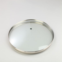 G type tempered glass lid for frying pan