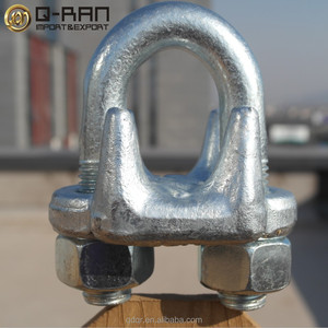 Rigging 450 wire rope metal clip grip clamp hardware 1/2