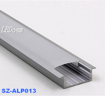 2m / 1m slim profile aluminum led strip light 12V