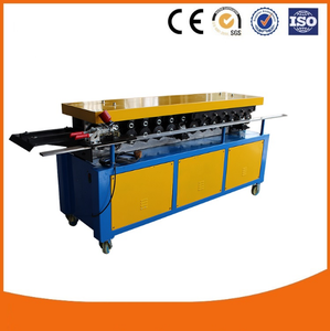 Good price Rectangular Flange air pipe making machine,1.2mm TDF air duct forming machine