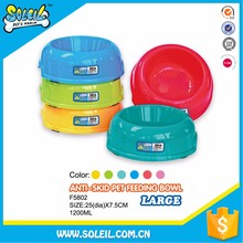 Eco-Friendly Cheap Plastic Pet Bowl For Dogs