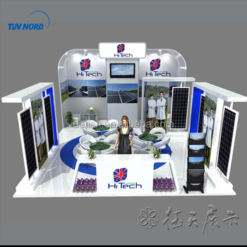 Trade Display Stands : Exhibition equipment display stands 6x6 exhibition booth trade show