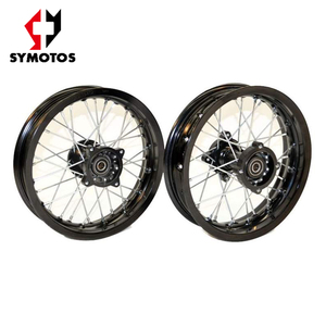 Alloy Front/ Rear wheels 10 in for motorcycles, dirt bike wheels