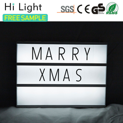 Wholesale Fashion Cheap materials light box color frame