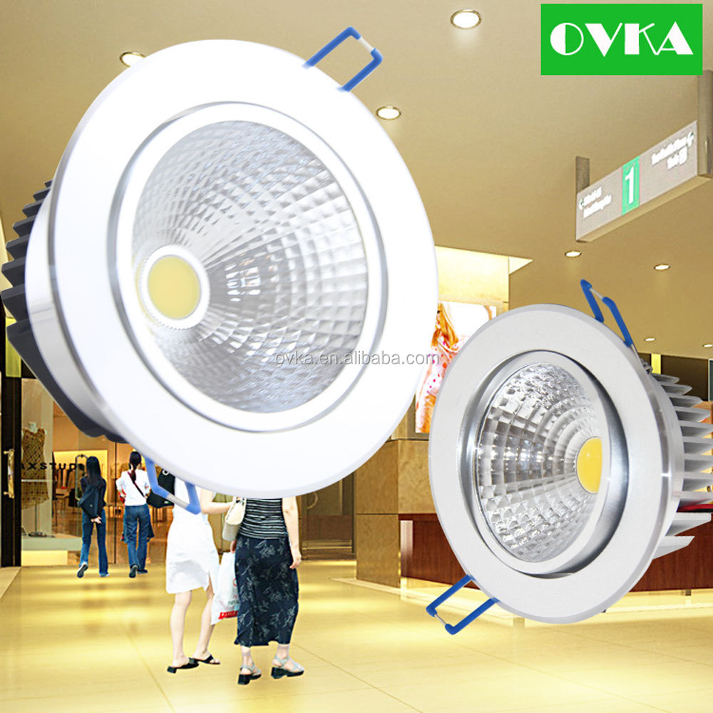 Factory sale! COB LED <strong>Downlight</strong> LED recessed light 5W 12W 20W for shopping mall, office