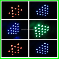 Slim Led Flat Light 54x3w /tri Led 3in1 Rgb Dj Par 54 Stage Light ...