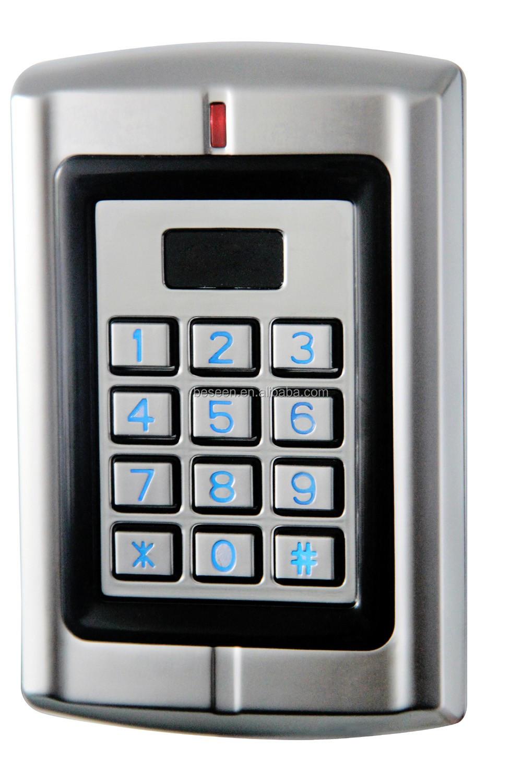 Waterproof Logam Kartu Rfid Standalone Keypad Kontrol Akses Perangkat Untuk 125 Khz Fob Buy Product On Alibabacom Karturfid
