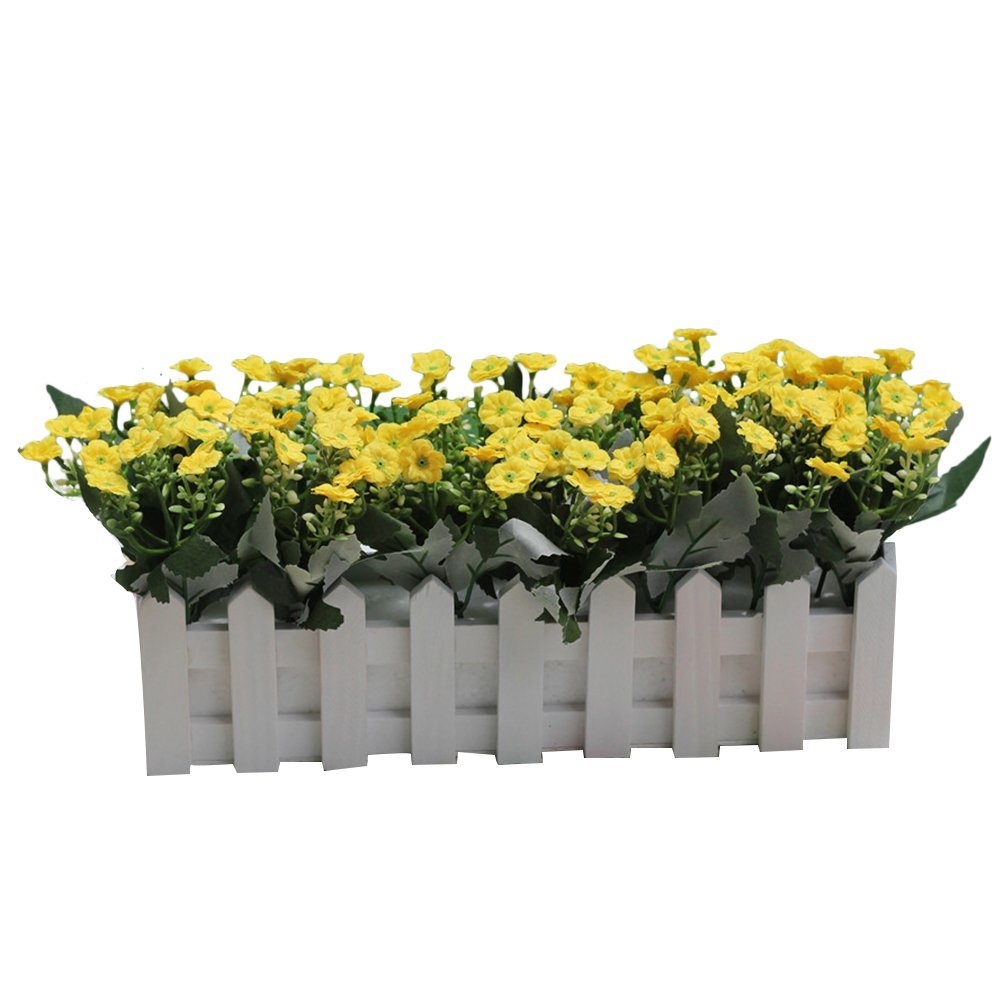 Buy Zhhmeiruian Artificial Fake Milan Flower Silk Flowers In Picket