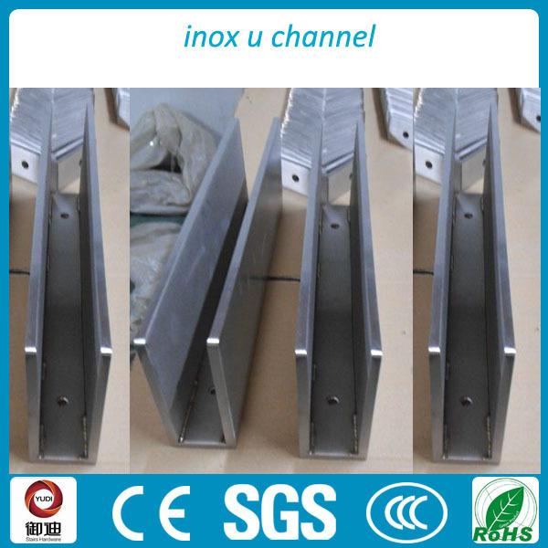 Modern Exterior Used Aluminum U Base Channel Shoe Glass Balustrade ...
