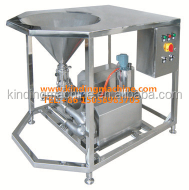 Industrial High efficient liquid powder mixer/emulsifier for food, chemical, dairy