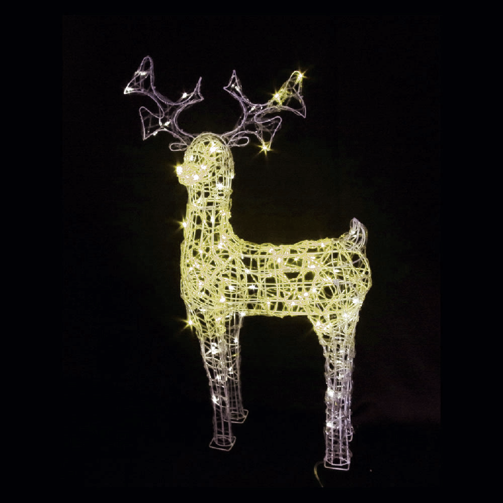 Large Outdoor Christmas Reindeer Light, Large Outdoor Christmas ...