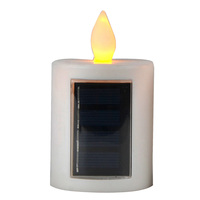 FACTORY wholesale decoration outdoor solar LED candle light