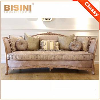 Victorian Design Elegant Pink Patterned Fabric Three Seat Sofa/european  Classic Nice Carving Living Room Sofa Set Home Furniture - Buy Fabric ...