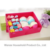 Wholesale soft fabric bra storage box with handle