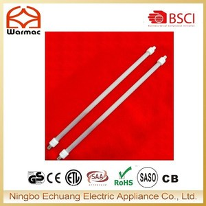 400W Infrared Quartz Heating Lamp / Quartz Tube