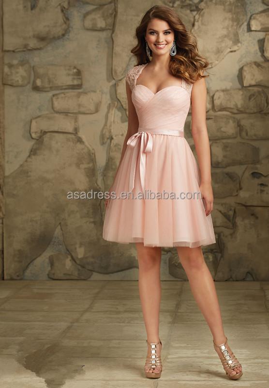 Mode Kleid China Herstellung Realen Probe Pfirsich Farbe ...