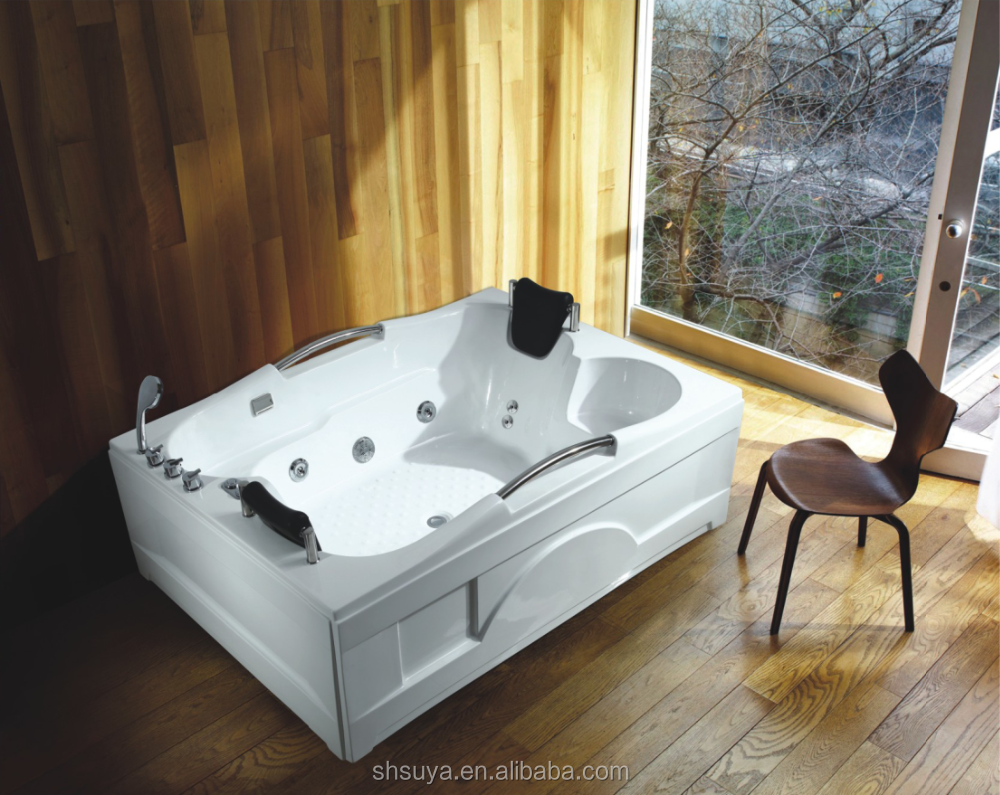 Couple Sex Hot Tub Massage Spa Bathtub Two Person Indoor Spa Bathtub