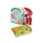 Custom Shaped children board book printing service