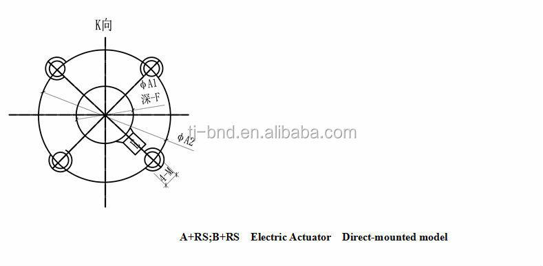 tianjin jinbo china electric valve actuator