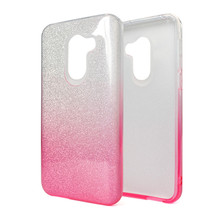 Saiboro 3 in 1 Kleurverloop Glitter Mobiele Telefoon Case Back Cover <span class=keywords><strong>Voor</strong></span> <span class=keywords><strong>Alcatel</strong></span> A30 2017 Case