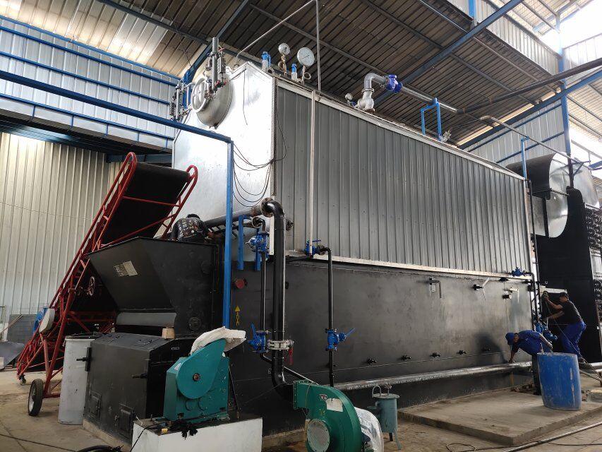 Tubo di acqua SZL Carbone Sparato 15 TPH 15 Ton Caldaia A Vapore
