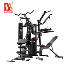 Multi Functionele Trainer Station Home Gym <span class=keywords><strong>Apparatuur</strong></span> met 76 KG Gewicht Plaat