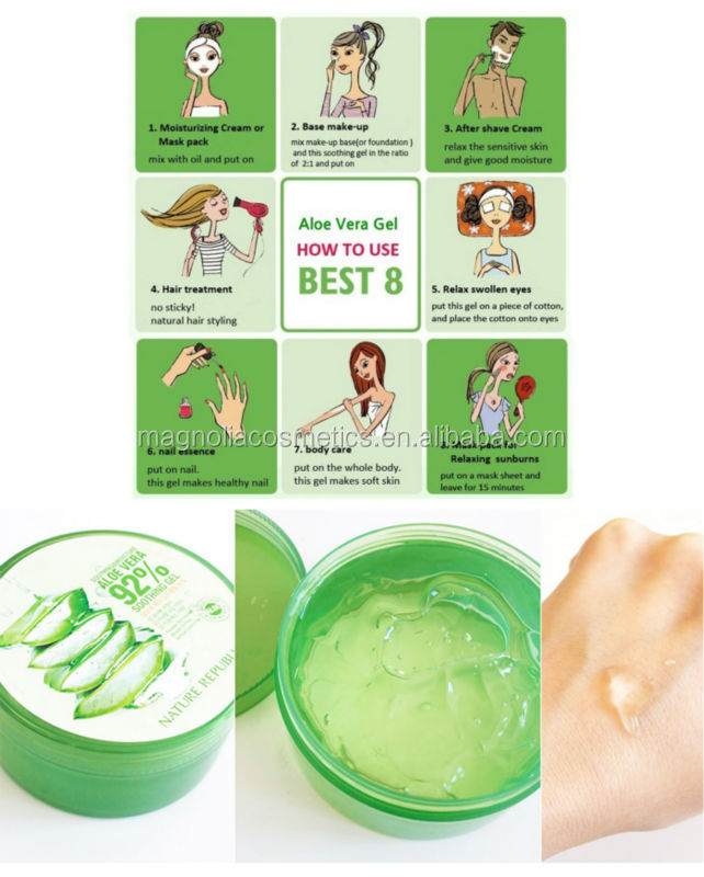 Natural Soothing & Moisture Aloe Vera 92% Soothing Gel
