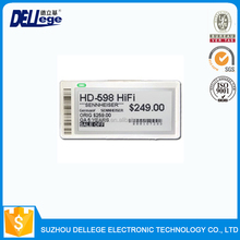 2017 Hot Selling Wireless Rf E Ink Label For Supermarket