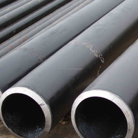 best quality black seamless carbon steel pipe/ms round pipes weight