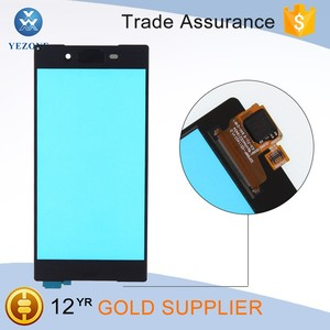 Factory wholesale price Original Quality black touch screen repair parts for sony xperia z5 lcd digitizer