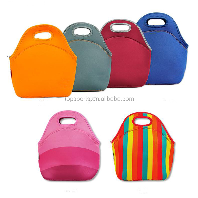 Portable Food Warmer Bag , Single Neoprene Lunch Warmer Bags