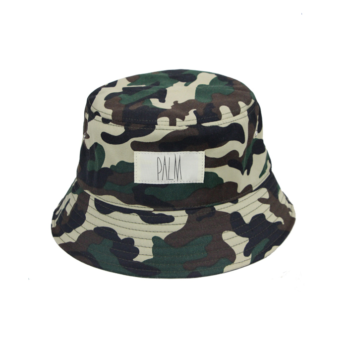 custom camo korean fishing festival reversible mens 100% polyester bucket hat