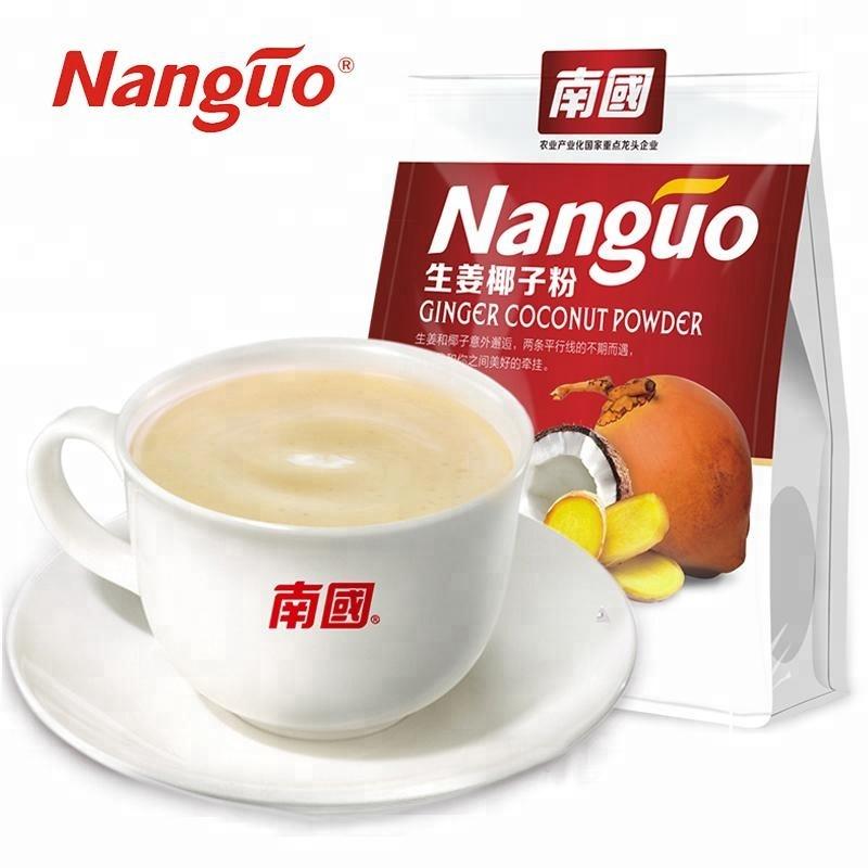 Rendelenmiş anlık zencefil hindistan cevizi krem toz içecek