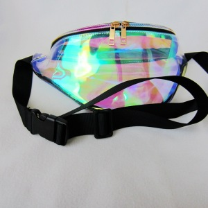 Fanny waist pack ladies custom brand bag clear fanny pack China wholesale