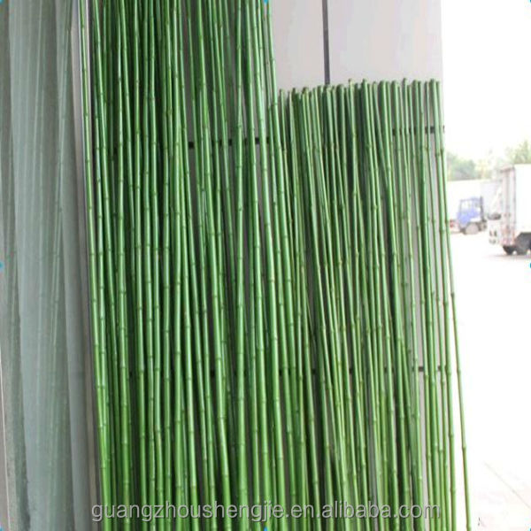 Q073103 grote kunstmatige groene plant tuin hek decoratieve kunststof bamboe stokken kunstmatige - Bamboe hek ...