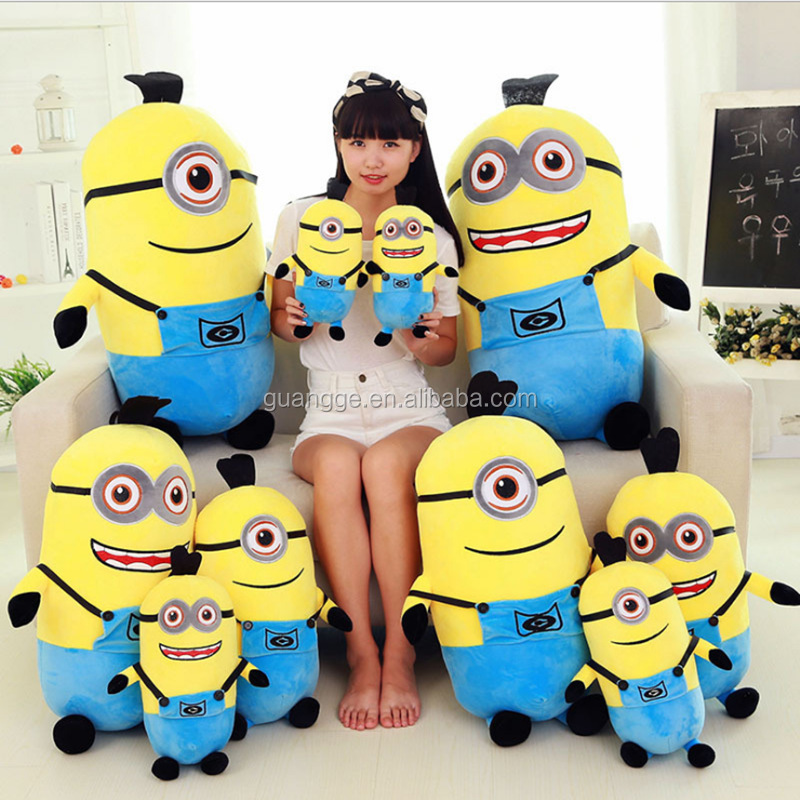 2017 Hot Sale Hawaii Style Custom Minion Plush Toy Cute Minion Plush toy