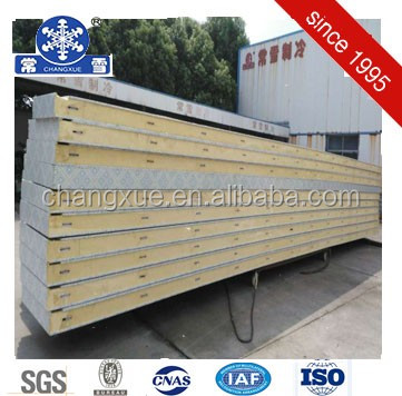 Customized PU panel cold cool room/ walk in cooler panel