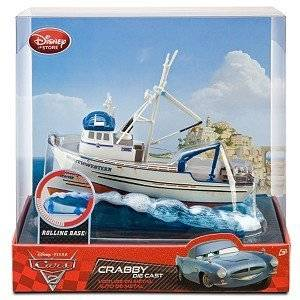 "Disney Pixar ""Cars 2"" Exclusive CRABBY BOAT DIE CAST NORTHWESTERN (Disneystore exclusive) by Disney"