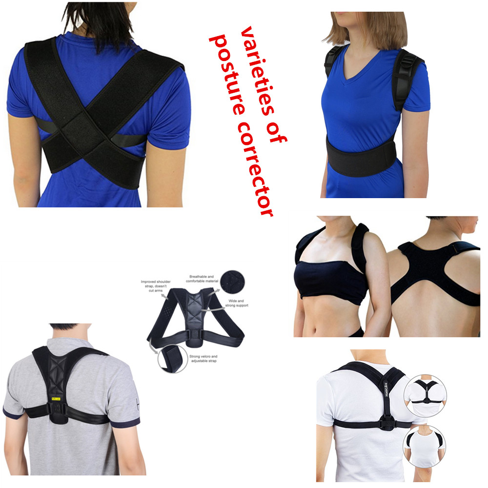 Back Posture Corrector for Spinal Alignment and Upper Back Pain/Adjustable Shoulder Posture Brace